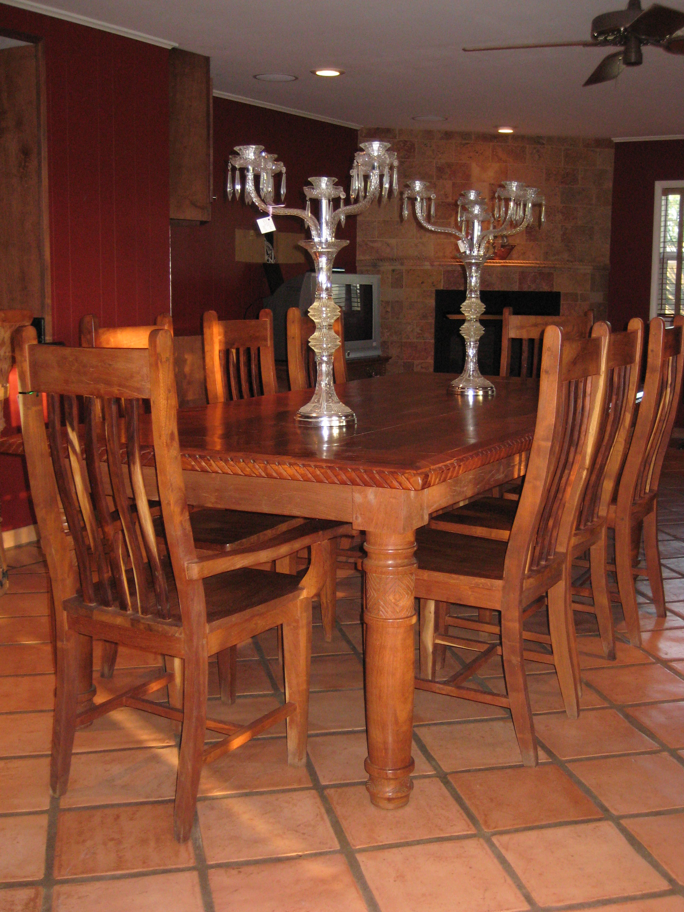 Bryn Mawr Estate Sale  Grand Piano Dining Room Table